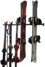 Ski And Snowboard Storage Rack