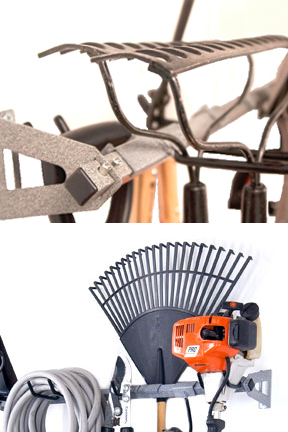 Sturdy construction allows you to hold several tools.