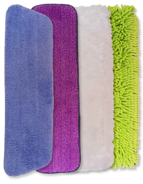 4-Piece Mop Pad Pack (18