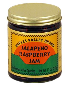 Gourmet Jalapeno Raspberry Jam