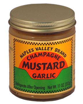 Gourmet Champagne Garlic Mustard