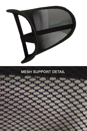 Supportive mesh