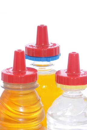 Included adapters allow the lid to fit almost any bottle.