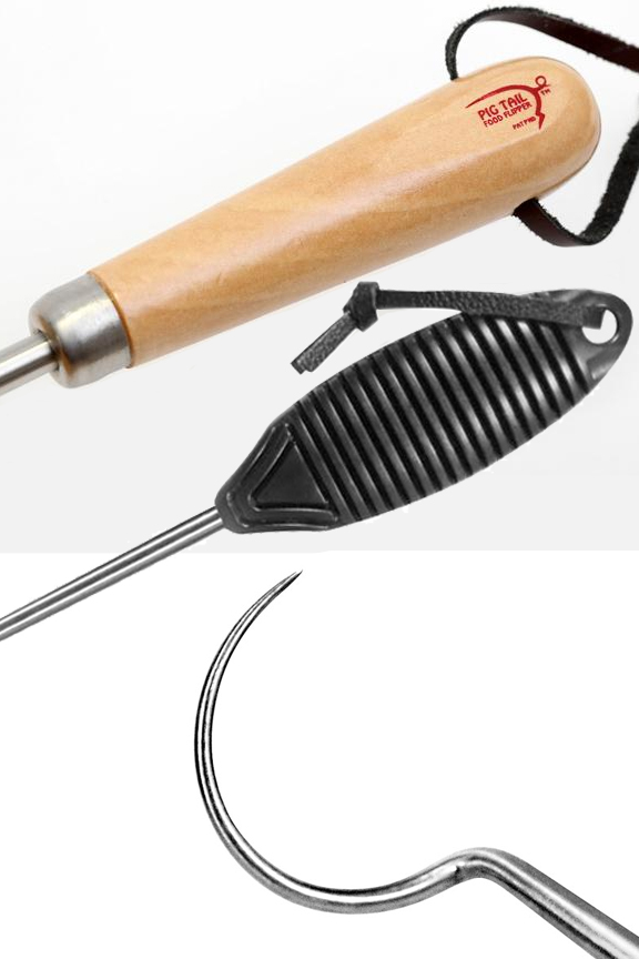 Surgical grade stainless steel poker. Your choice of wood or ABS handles.