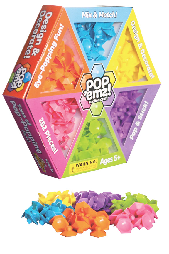 Pop 'Emz Suction Craft Set (252 Pcs.)