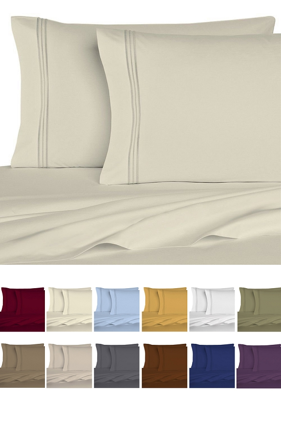 Premium Microfiber Sheets (6 Piece Set)
