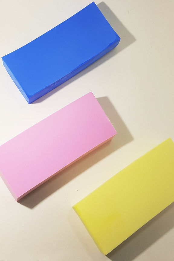 Three colors to choose from: PVA sponge