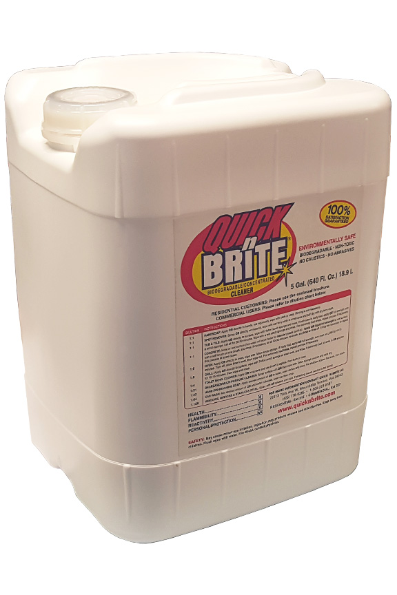 5 Gallon Quick N Brite Liquid Concentrate