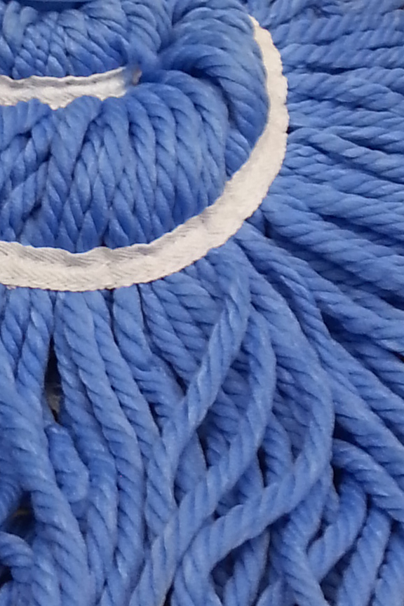Thick yarns are soft and powerful.