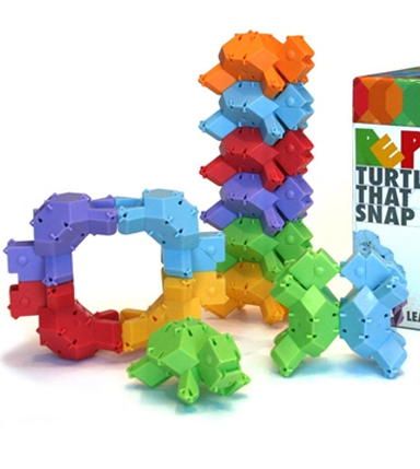 Build into many different shapes and sizes.