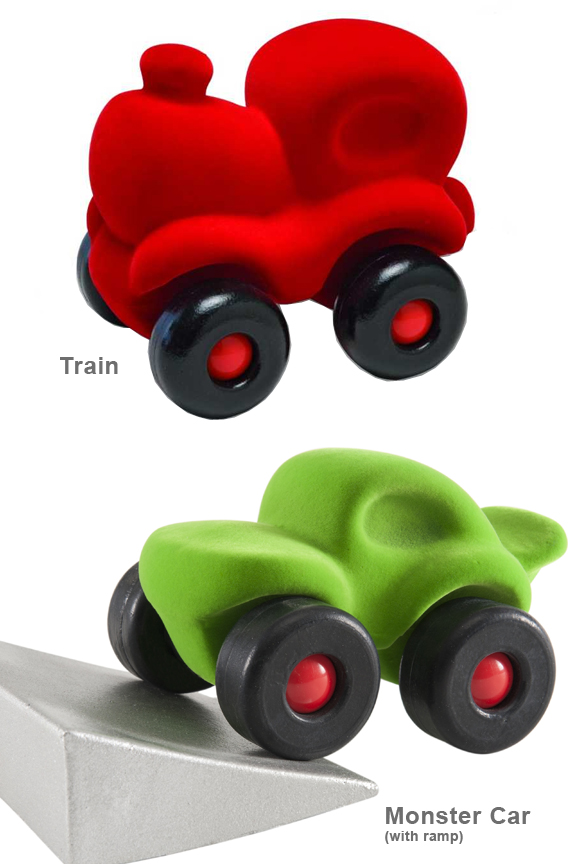 Many styles to choose from. Train and Monster Car.