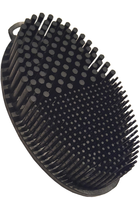 Travel Size Rubber Lint And Fur Remover Brush