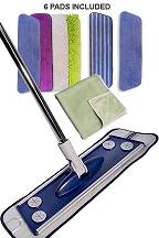 Smart Deluxe Microfiber Mop Set