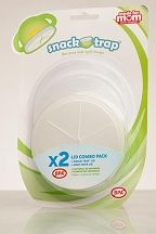 Snack Trap 2 Lid Combo Pack