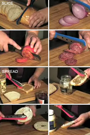 The ultimate sandwich making tool.