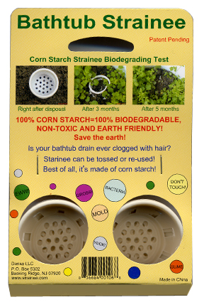 Disposable Bathtub Strainer (8-Pack)