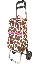 Insulated Shopping Bag With Rolling Cart