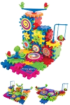 Krazy Gears Motorized Building Set