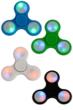 LED Lighted Tip Fidget Spinner