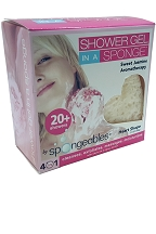 20+ Shower Gel In a Sponge (Sweet Jasmine)