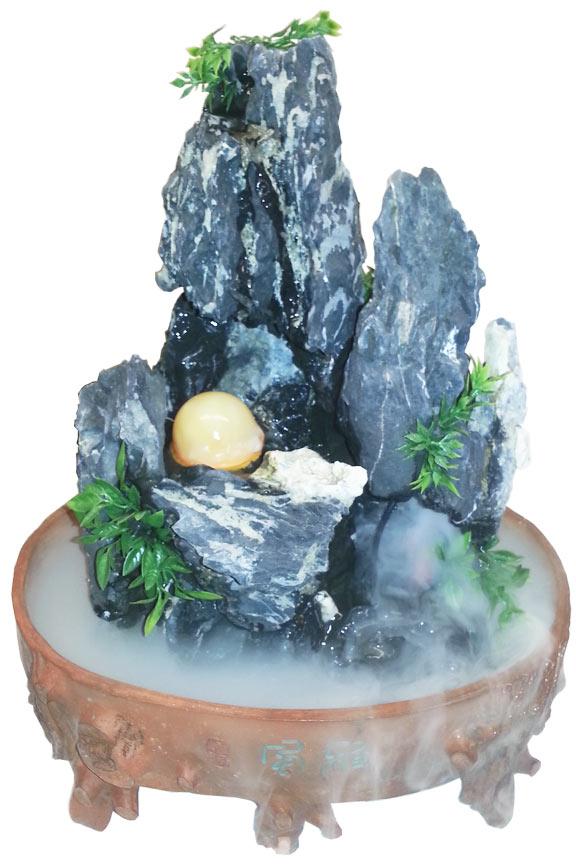 Tree Stump Feng Shui Fountain