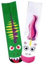 Womens Dragon Vs. Unicorn Socks