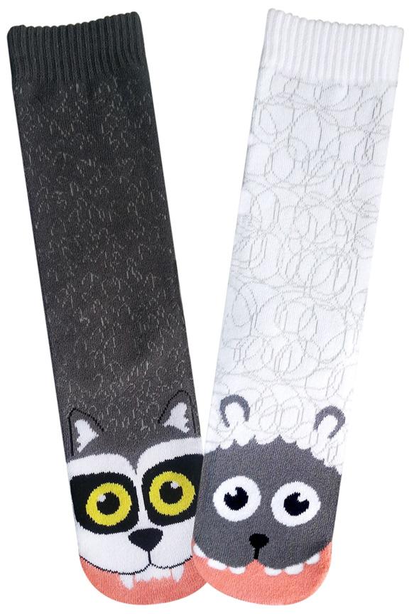 Wolf Vs Sheep Socks For Women