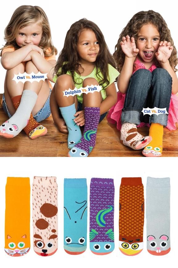Girls Vs. Socks