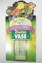 Trumpet Shape Window Vase