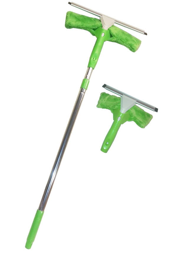 2 Piece Window Washer Set With Telescoping Pole