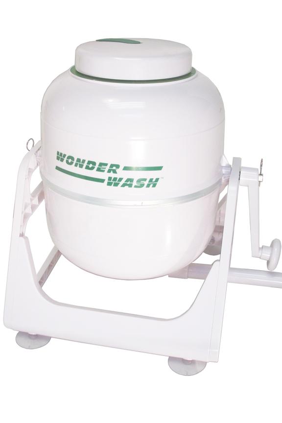 WonderWash - A portable, Hand-Crank Washing Machine