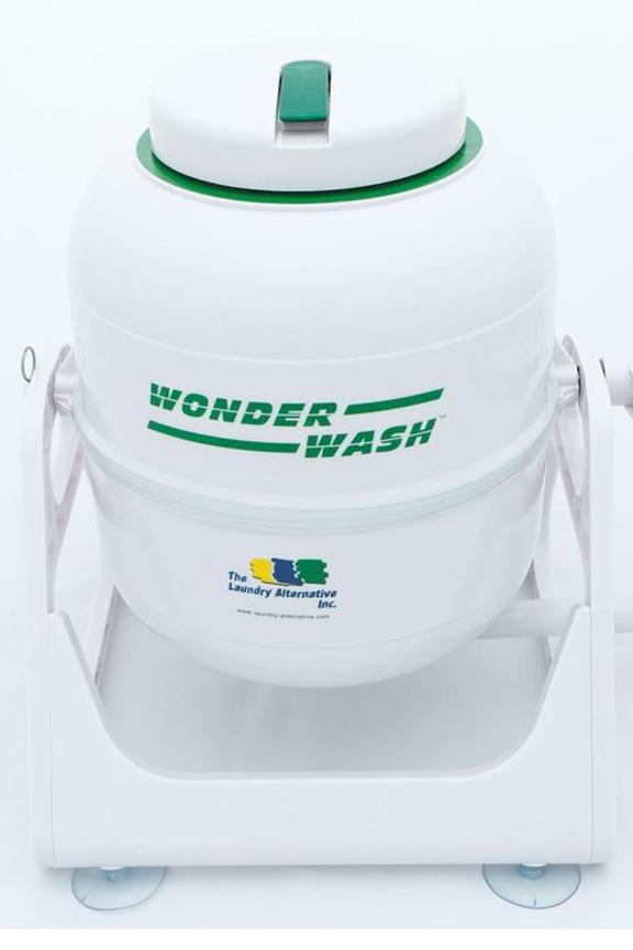 Wonderwash portable hand-crank washing machine
