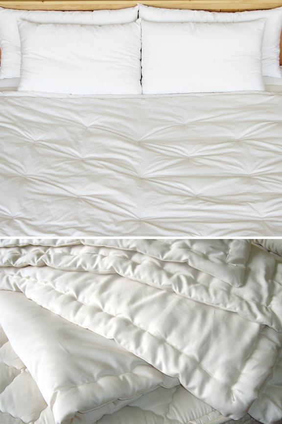 Natural Wool Comforter