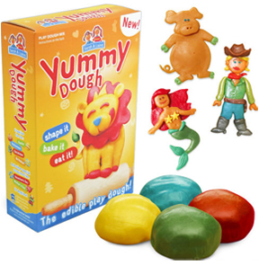 Yummy Dough - Modeling Clay You Can Eat!