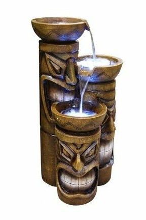 GIL838 Tiki Fountain With Lights