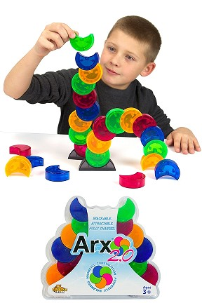Arx 2.0 - A Magnetic Stacking Toy