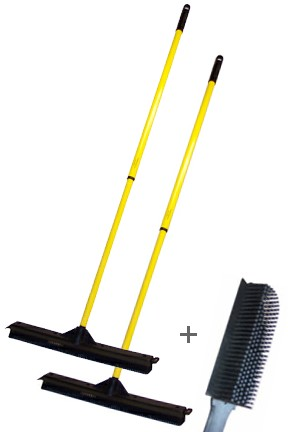 18 Inch Broom and Brush Combo