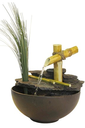 TT5136 Calming Bamboo Eternity Fountain