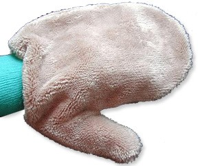 Microfiber Cleaning Mitten