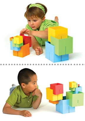 Dado Cubes - building blocks