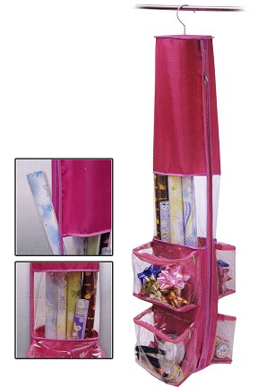Hanging Wrapping Paper Holder