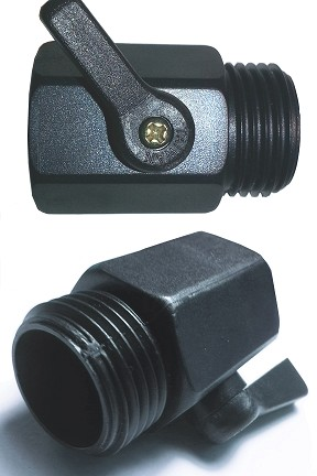 Garden Hose On / Off Valve