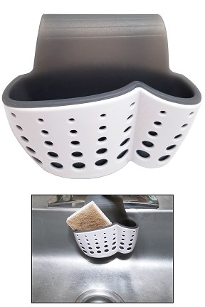 Faucet Mount Kitchen Sink Storage Basket