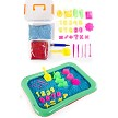 Complete 32 piece indoor play sand set.