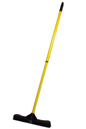 13.5 in. Commercial Rubber Broom