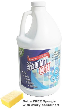 Large, 64 oz Scum Off Shower Cleaner