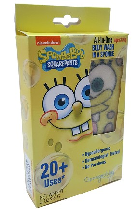 Kids Body Wash In A Sponge by Spongeables