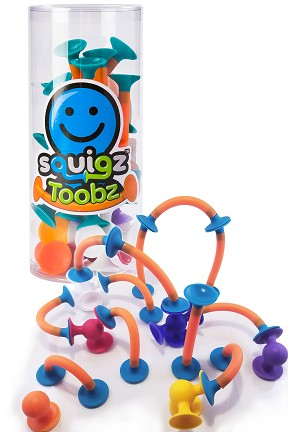 Squigz Toobz 18 piece set