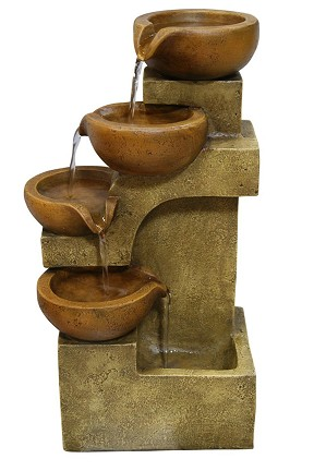 WCT726 Four Tier Pouring Pots Fountain
