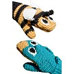 Children's Bird vs. Bee Mittens